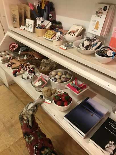 Whippet in Portland gift shop Tender Loving Empire 2